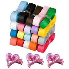 """Free shipping  hairbow 3/8""""9mm 20/100 yards solod grosgrain ribbon 20 colors Lu"""