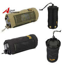 LooYoo Outdoor 1050D Cordura Molle Dump Open Top Water Bottle Pouch Bag Hunting