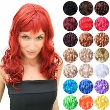 Wig fiery Vamp Diva curly and long Women's Party Wig LM-142 NEW