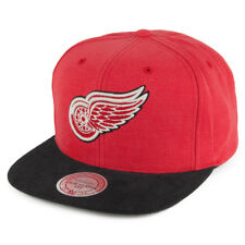Mitchell & Ness Detroit Red Wings Snapback Cap - Red-Black