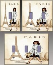 Paris Wall Decor Light Switch Plate Cover