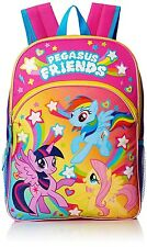 """MY LITTLE PONY 16"""" Full Size Light-Up Backpack w/ Optional Insulated Lunch Box"""