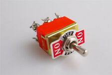 6-Pin Toggle DPDT ON-OFF-ON Switch 15A 250V