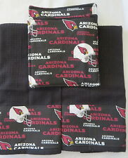 Arizona Cardinals handmade kitchen towels and potholders