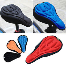 Cycling Bicycle Mountain Bike 3D Silicone Gel Pad Seat Saddle Cover Cushion tbuk