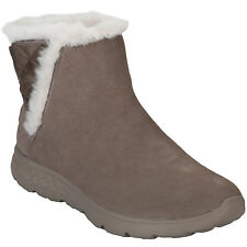 Womens Skechers Womens On The Go 400 Cozies Boots in Taupe