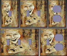 Theater Drama Wall Decor Light Switch Plate Cover