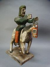 19th Century Mexican Quixote Figure on Horse