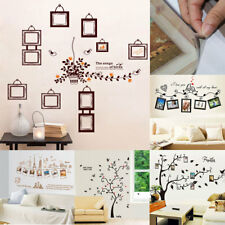 Home Room PVC Removable DIY Photo Frames Decoration Wall Art Sticker Decal