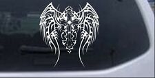 Tribal Wings and Cross Decal Car or Truck Window Laptop Decal Sticker 8X8.9