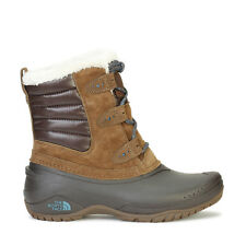 The North Face Womens Shellista II Shorty Waterproof Boots Brown/Blue