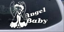 Betty Boop Angel Baby Decal Car or Truck Window Laptop Decal Sticker 8X10.9