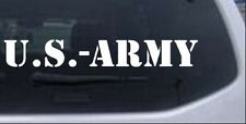 US Army Car or Truck Window Laptop Decal Sticker Military 14X2.1