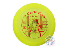 NEW Westside Discs VIP King 175g Yellow Red Foil Distance Driver Golf Disc