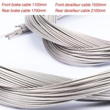 Bicycle Derailleur/Brake Cable Stainless Steel Inner Wire MTB Bike Accessory 5PC