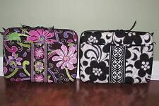 Vera Bradley MINI LAPTOP CASE iPad Tablet eBook NIGHT & DAY or PURPLE PUNCH NWT