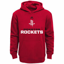 Houston Rockets adidas Youth Clean Cut Hoodie - Red - NBA