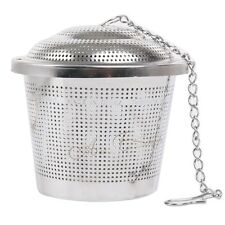 Stainless Steel Tea Strainer Infuser Filter Loose Herb Leaf Steeper Diffuser