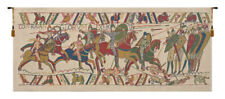 Bayeux The Battle Belgian Warriors With Horses Woven Tapestry Wall Hanging NEW