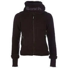 Womens Bench Investigator Fleece Jacket In Black From Get The Label