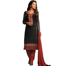 Designer Elegant Embroidery Cotton Salwar Kameez Readymade India-Venee-HR-2503-A