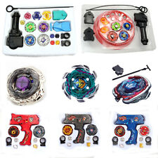 HOT Fusion Top Metal Master Rapidity Fight Rare Beyblade 4D Launcher Grip Set