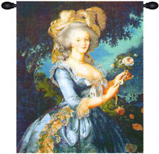 Marie Antoinette French Renaissance Royal Queen Decorative Woven Wall Tapestry