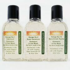 PSORIASIS ITCHY SCALP relief - Organic Shampoo Hair Care Remedies Sample Pack