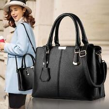 Fashion Women's Handbag Shoulder Bag PU Leather Messenger Bag Tote Casual Purse