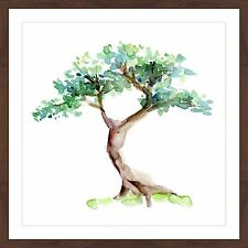 Marmont Hill - 'Bonsai Tree' by Michelle Dujardin Framed Painting Print