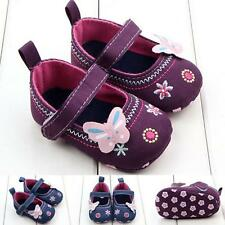 Fashion Baby Girl Shoes Butterfly Soft Sole Toddler Shoes Soft Sole Prewalker