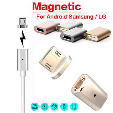 Micro USB Magnetic Adapter Charger Cable Metal Plug for Android Samsung HTC Sony