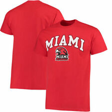 Miami University RedHawks Campus T-Shirt - Red - NCAA