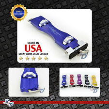 Door Jammer PDR Tool Blue Stainless Steel Pro Paintless Dent Removal Hail Repair