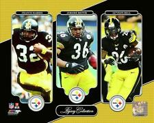 Franco Harris, Jerome Bettis, Le'Veon Bell Pittsburgh Steelers Photo (TP030)