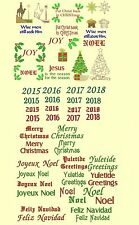CHRISTmas & Greetings Machine Embroidery Designs-68 Anemone Embroidery Designs