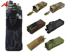 Tactical Molle Belt Walkie Talkie PRC148 MBITR Radio Pouch Bag Airsoft Hunting