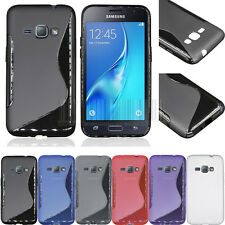 Slim TPU Gel Soft Case Shockproof Cover For Samsung Galaxy Amp 2 J1 Luna 4G LTE