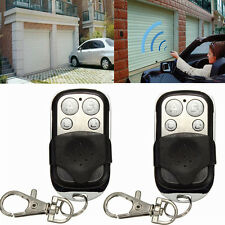 5× Universal Electric Gate Garage Door Remote Control Cloning Key Fob 270~434MHZ