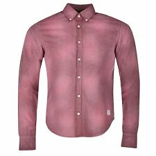 Scotch and Soda Mens Shirt Long Sleeves Casual Work Button Down New