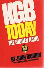 KGB Today by Barron John - Book - Hard Cover - Crime/Mystery - True