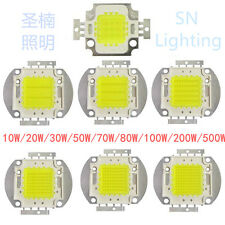 1/5/10pcs 10/20/30/50/100/200/500W High Power led LED Chip White/Warm DIY