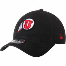 Utah Utes New Era Relaxed 49FORTY Fitted Hat - Black - NCAA
