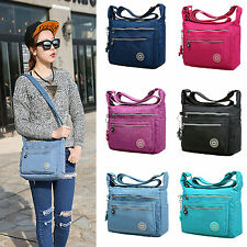 Womens Girl Canvas Handbag Shoulder Cross Body Bag Tote Messenger Satchel Purse