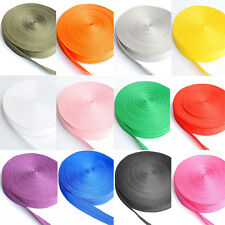 Wholesale 5Yards Decorative Nylon Ribbon Satin Trim Ribbon Craft DIY 25mm