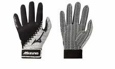 Pair Pack Mizuno Swift Women's Softball Batting Gloves NEW Black/White 330288