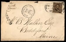 Boston & Albany Tr 31 1890S Rpo Cancel On Cover To Maine