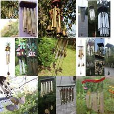 Windchimes Wind Chime Tubes Bell Rustic Hanging Ornament Home Outdoor Decor Gift