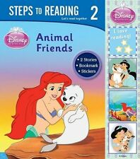 Disney Learning: Steps To Reading Level 2 - Animal Friends..., Disney 1445421100