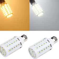 100PCS 5630 SMD E27 60LEDs Warm/Cool White Corn Bulb High Power Lamp AC 220V